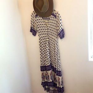 Arnhem boho maxi dress nwot